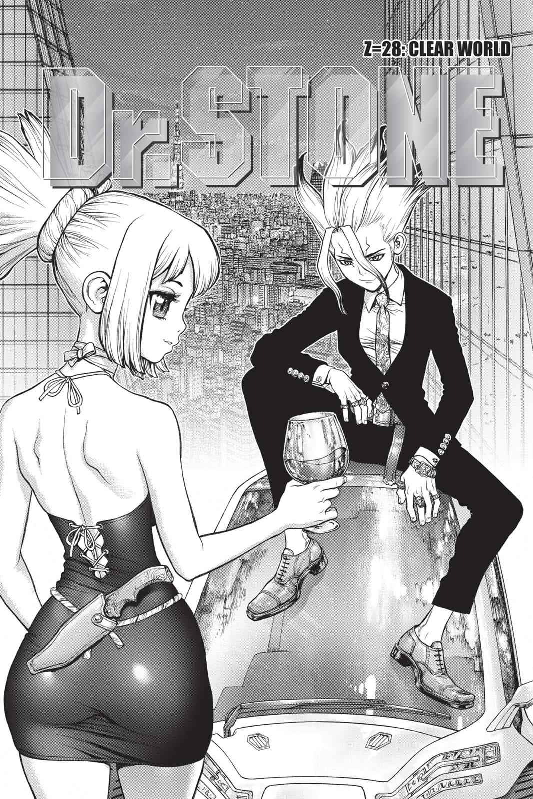 Dr. Stone Chapter 28 Page 3
