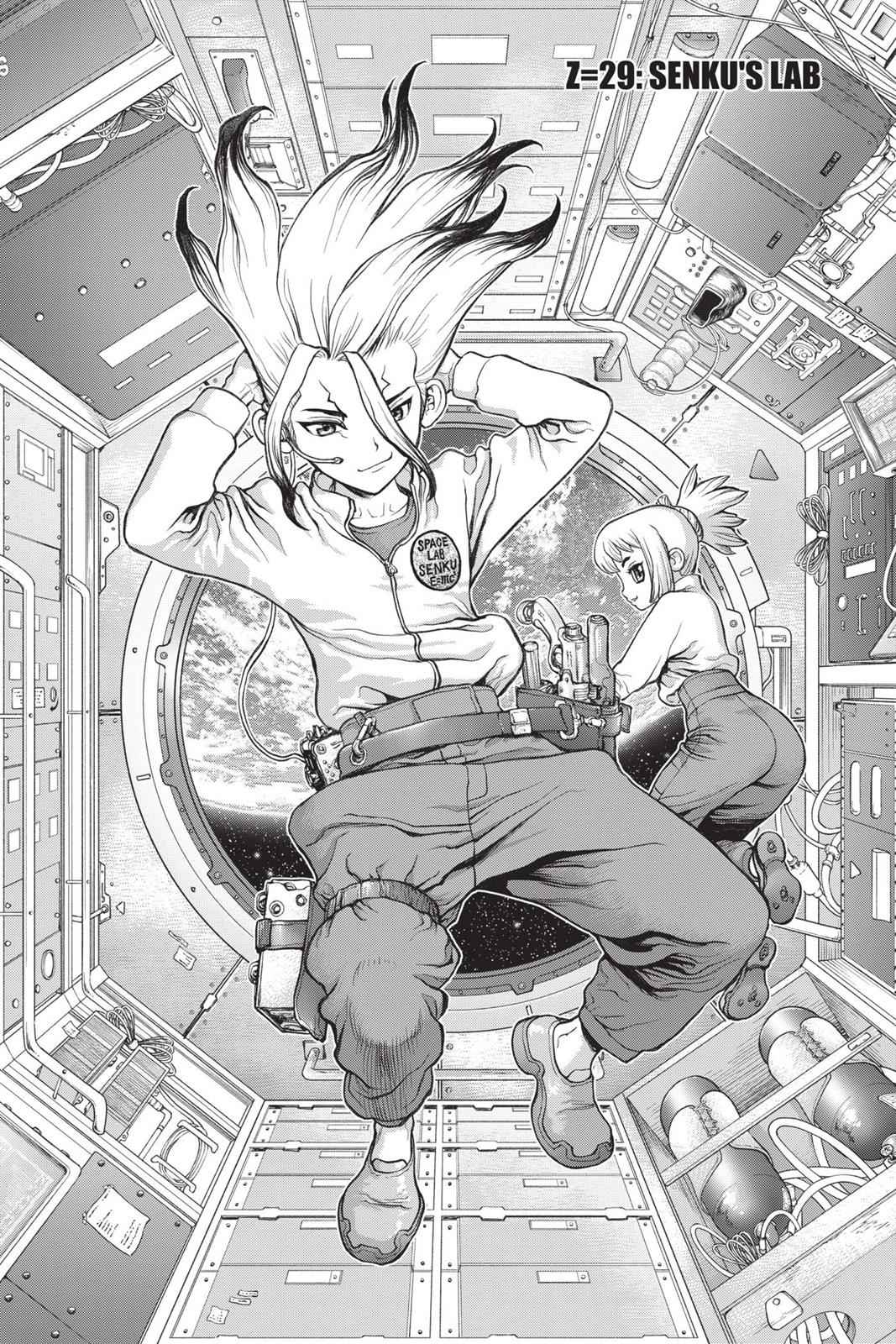 Dr. Stone Chapter 29 Page 1