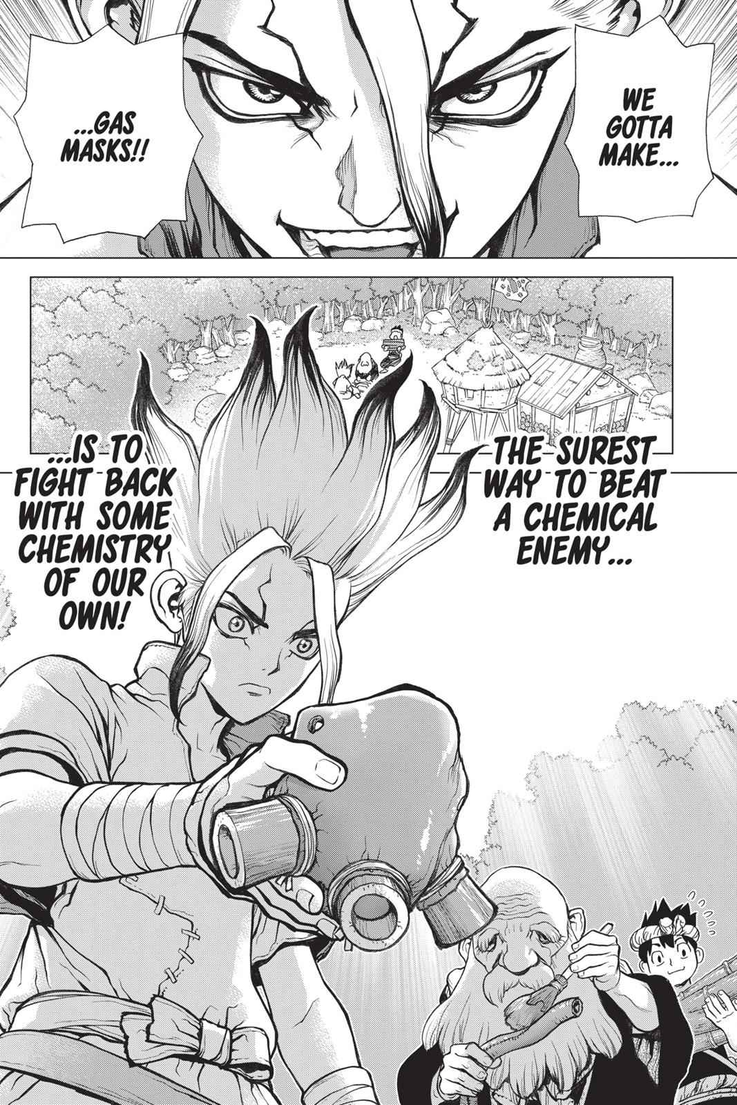 Dr. Stone Chapter 30 Page 17