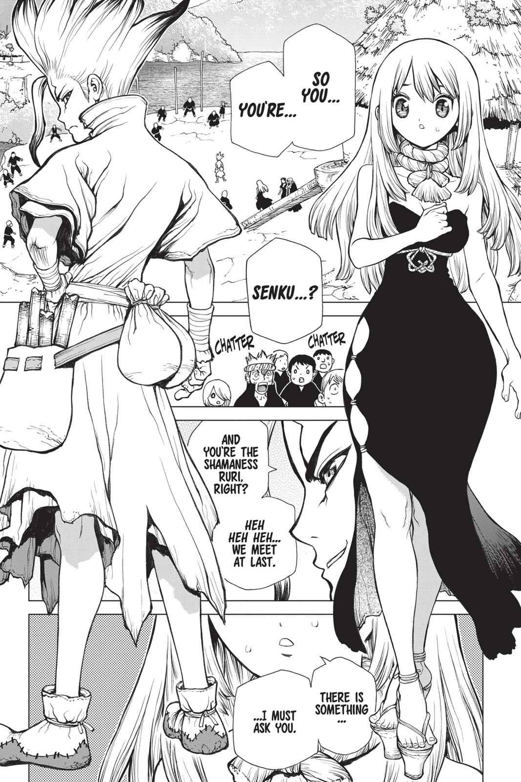 Dr. Stone Chapter 34 Page 2