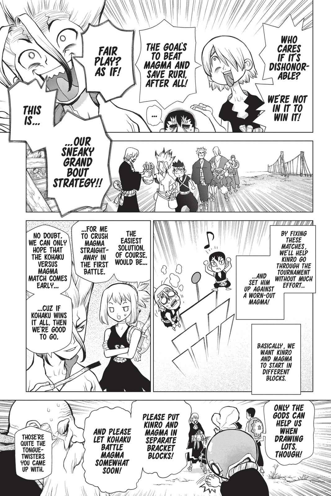 Dr. Stone Chapter 34 Page 7