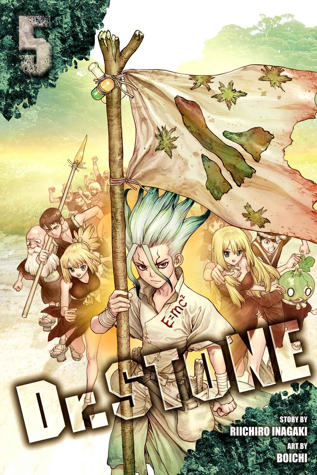Dr. Stone Chapter 35 Page 1