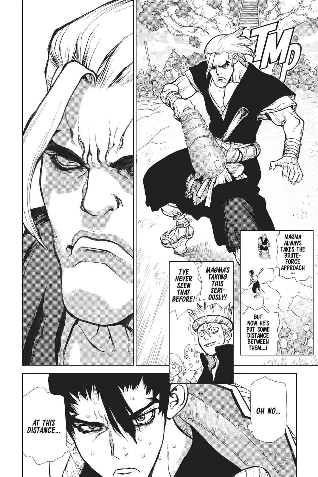 Dr. Stone Chapter 35 Page 11