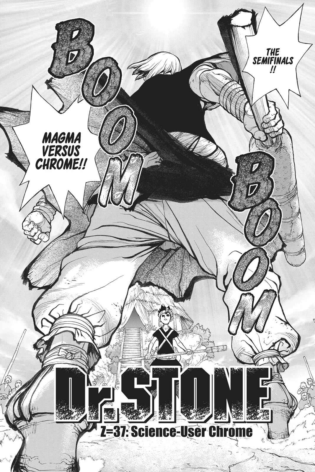 Dr. Stone Chapter 37 Page 7