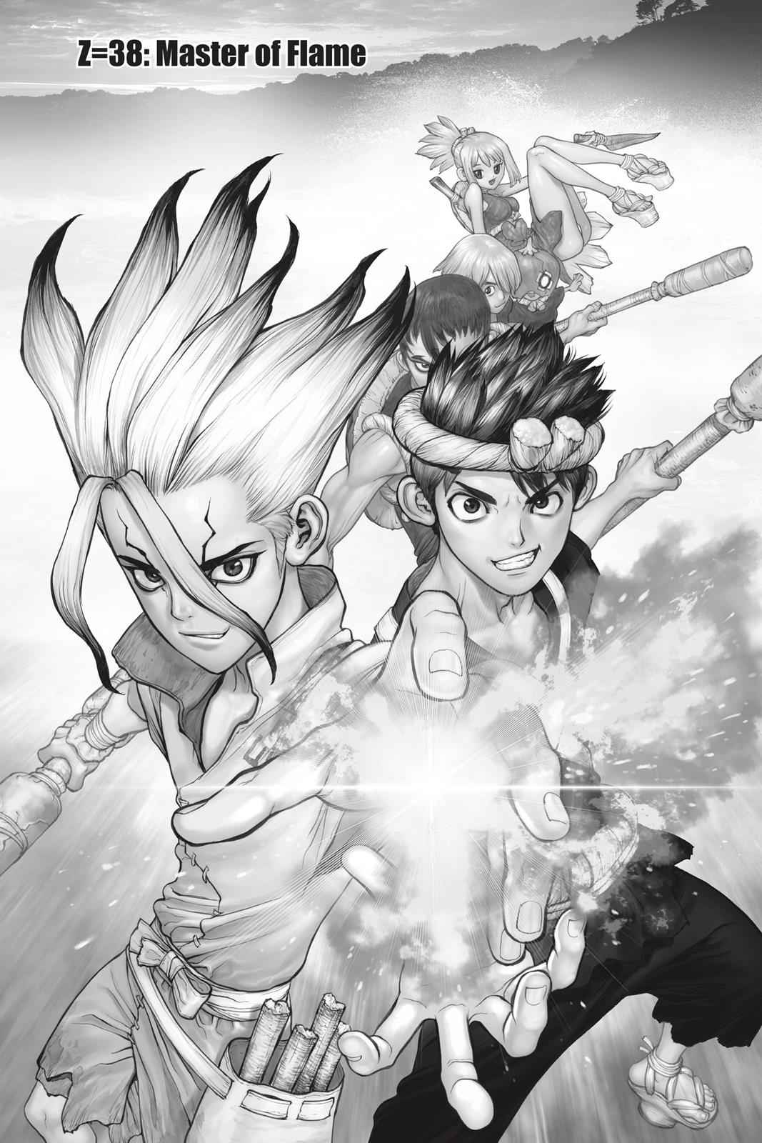 Dr. Stone Chapter 38 Page 1