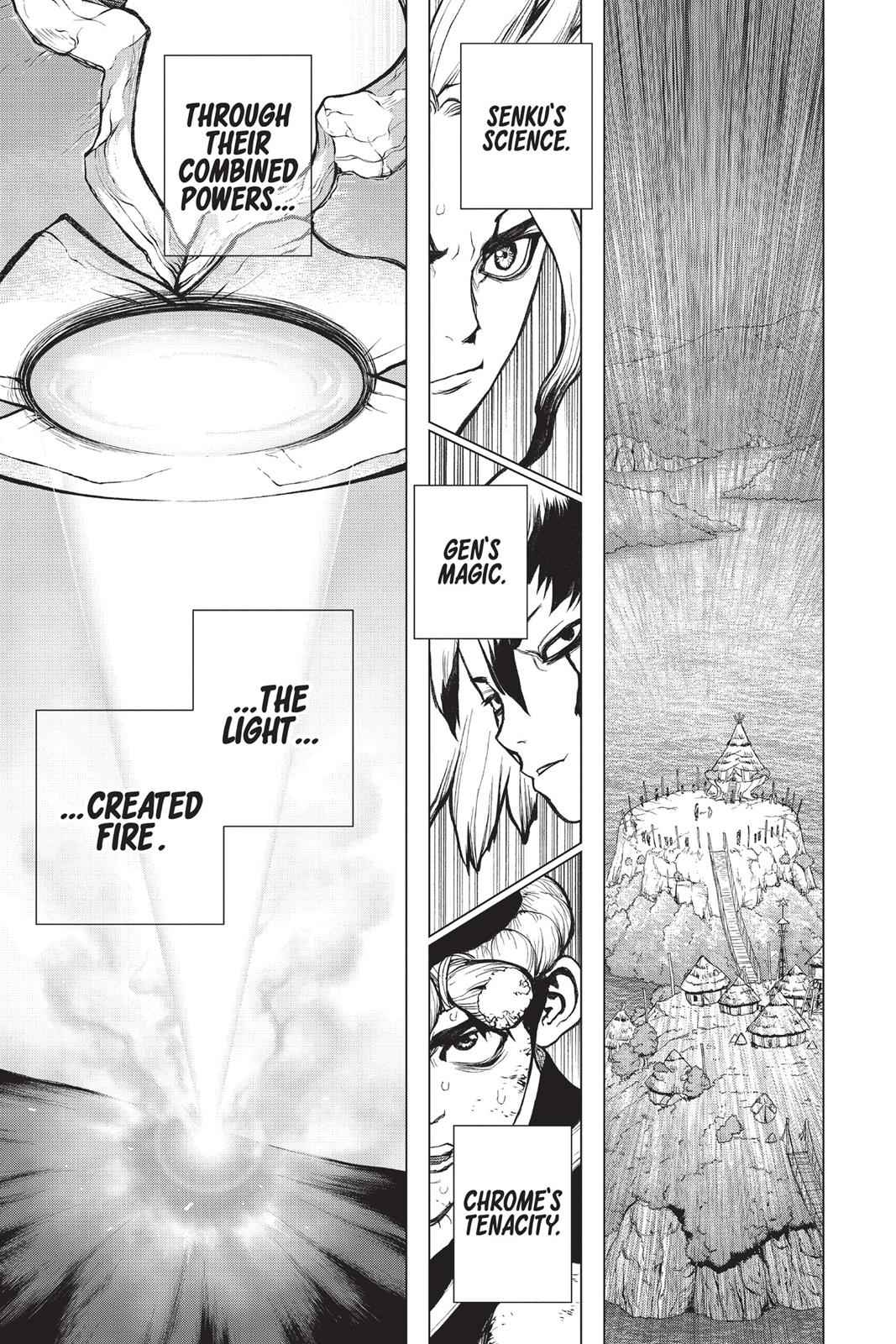 Dr. Stone Chapter 38 Page 15