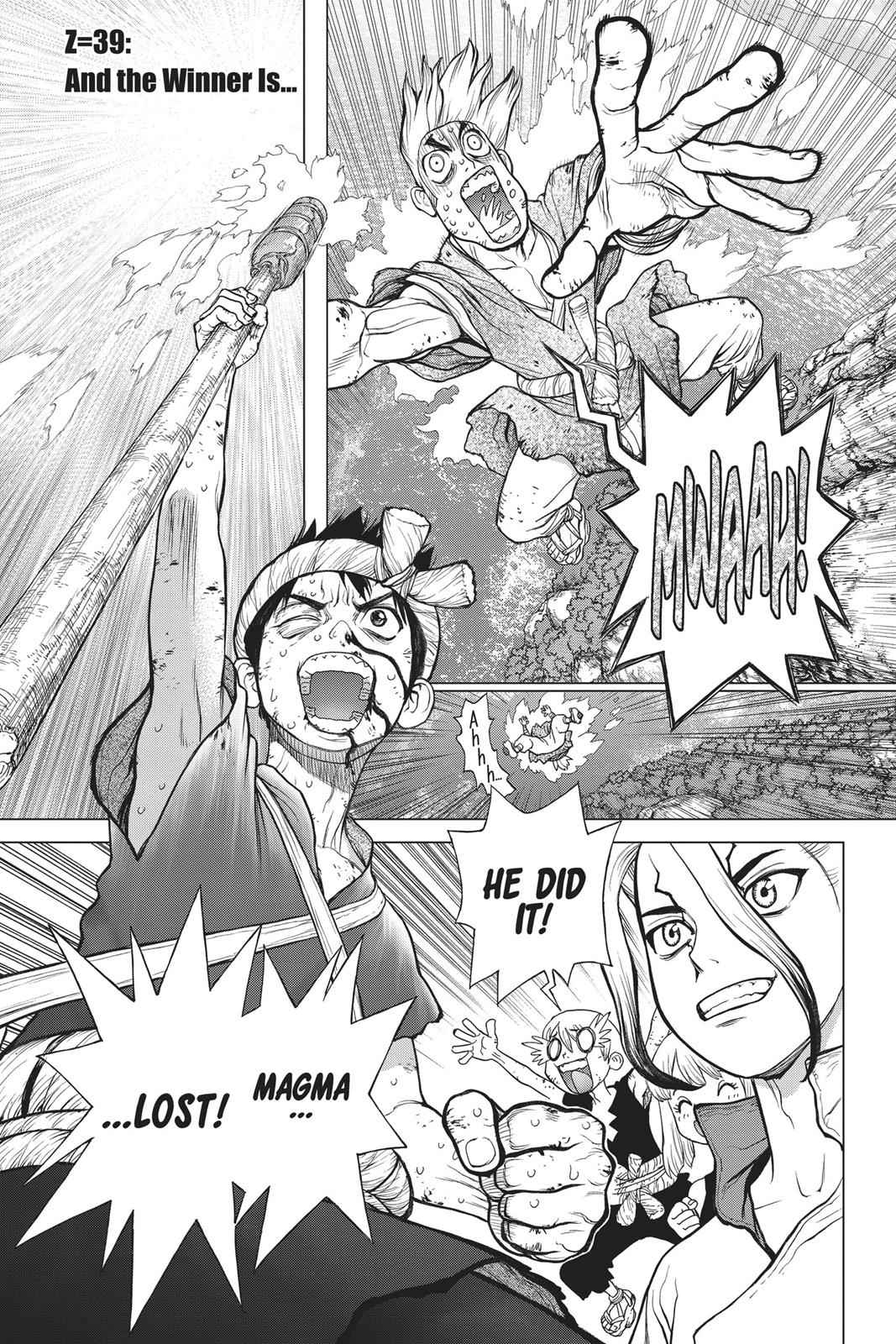 Dr. Stone Chapter 39 Page 1