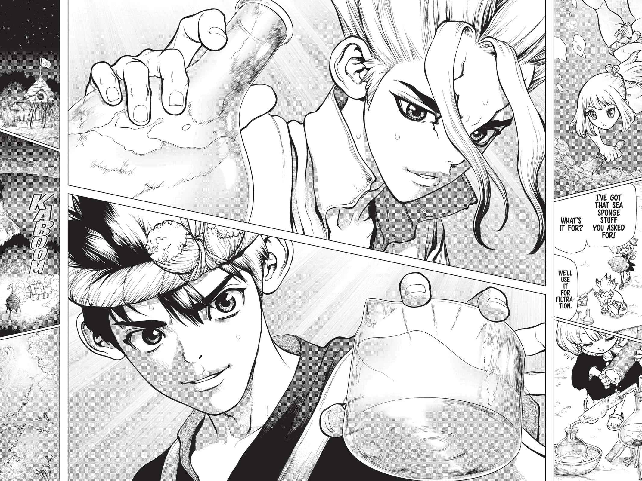 Dr. Stone Chapter 40 Page 13
