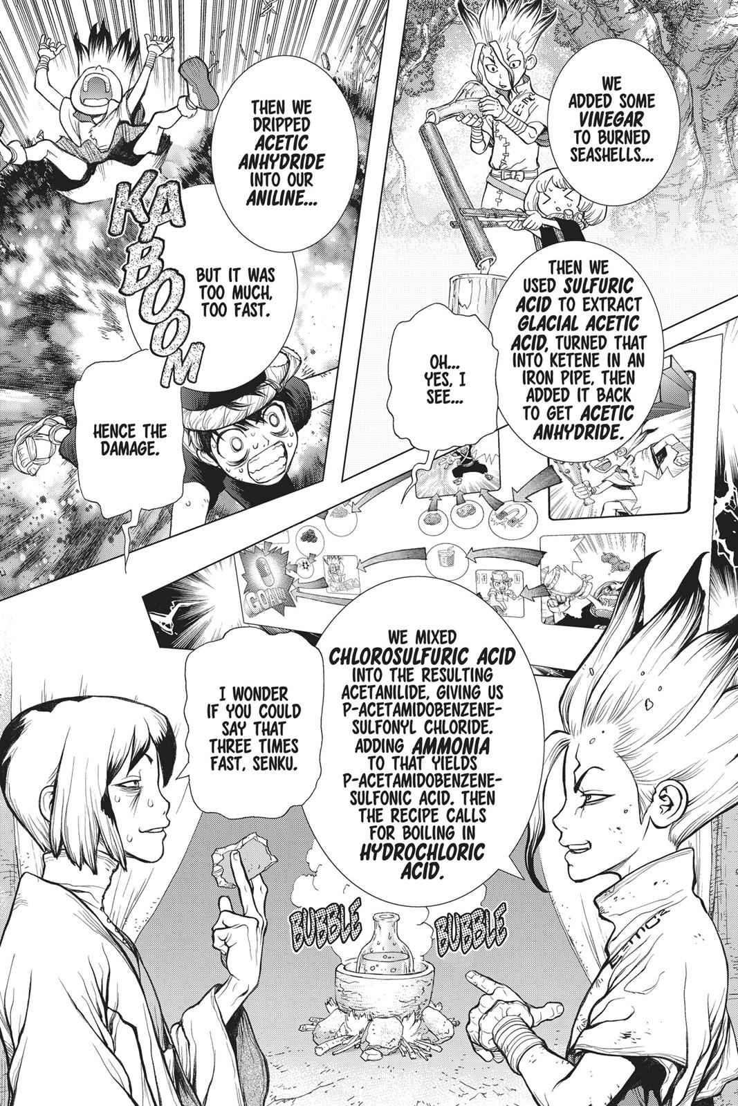 Dr. Stone Chapter 40 Page 16