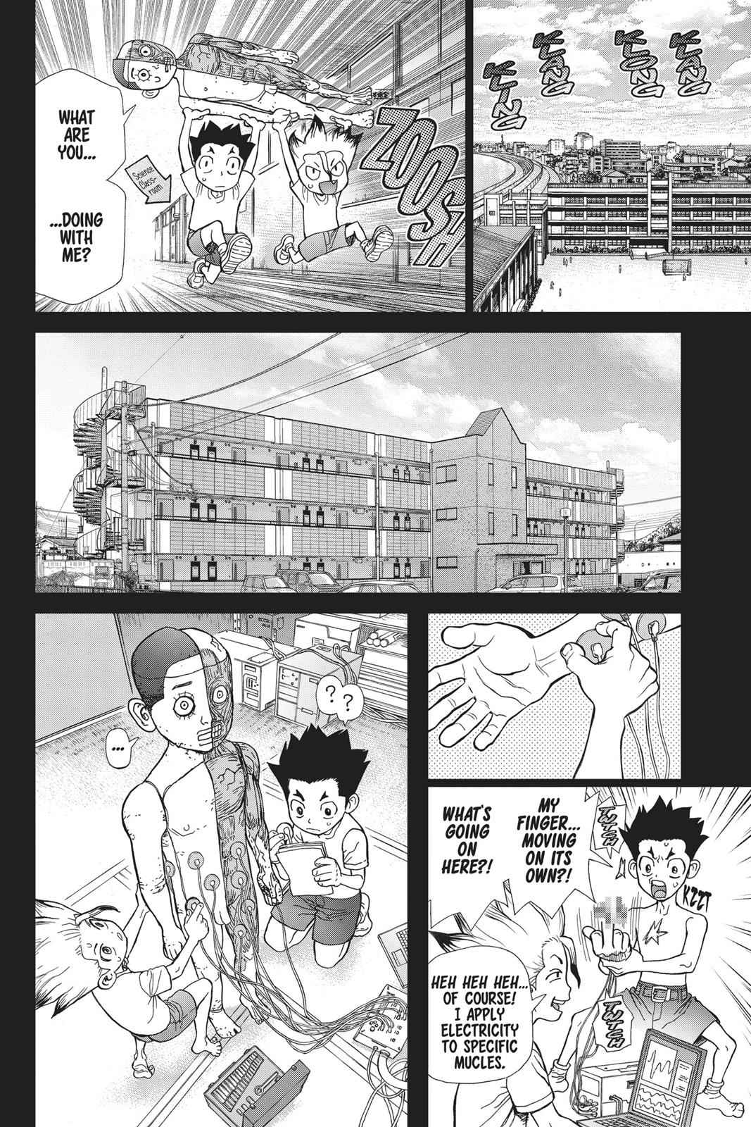 Dr. Stone Chapter 42 Page 10