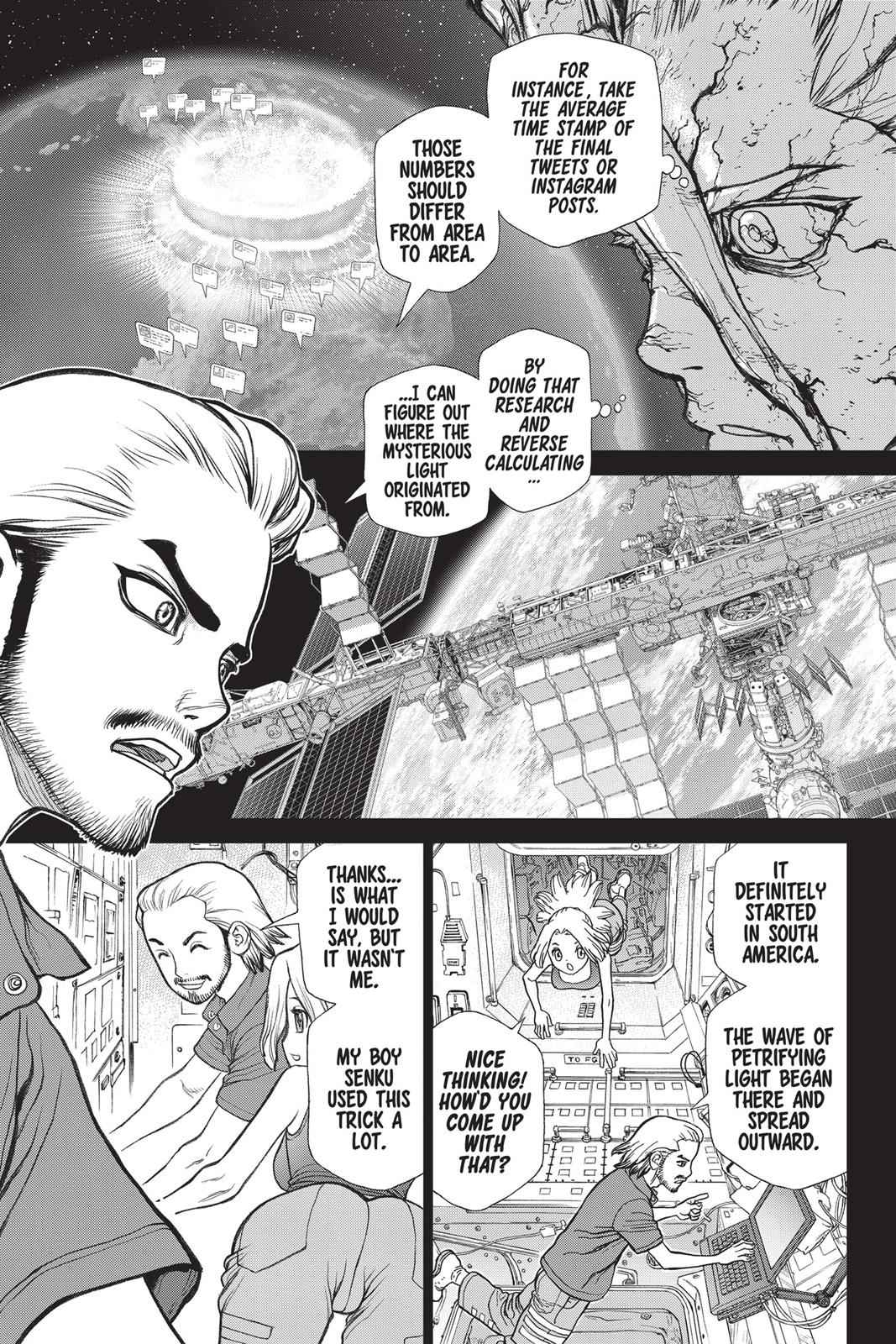Dr. Stone Chapter 44 Page 9