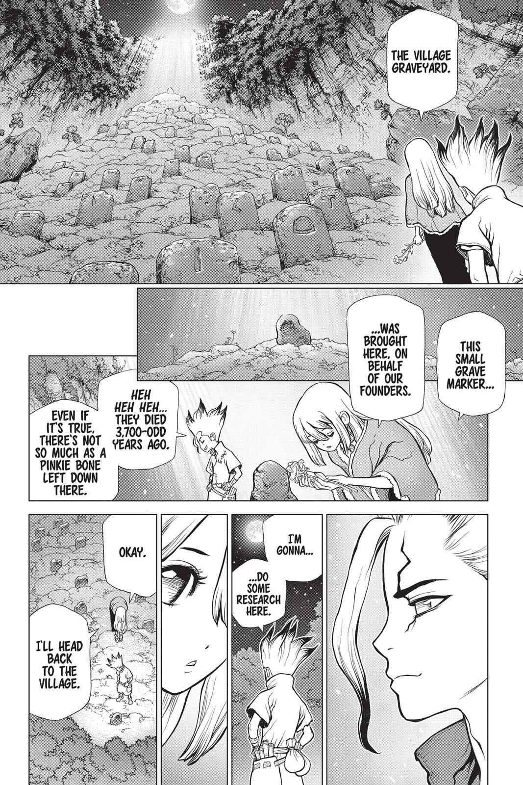 Dr. Stone Chapter 45 Page 13