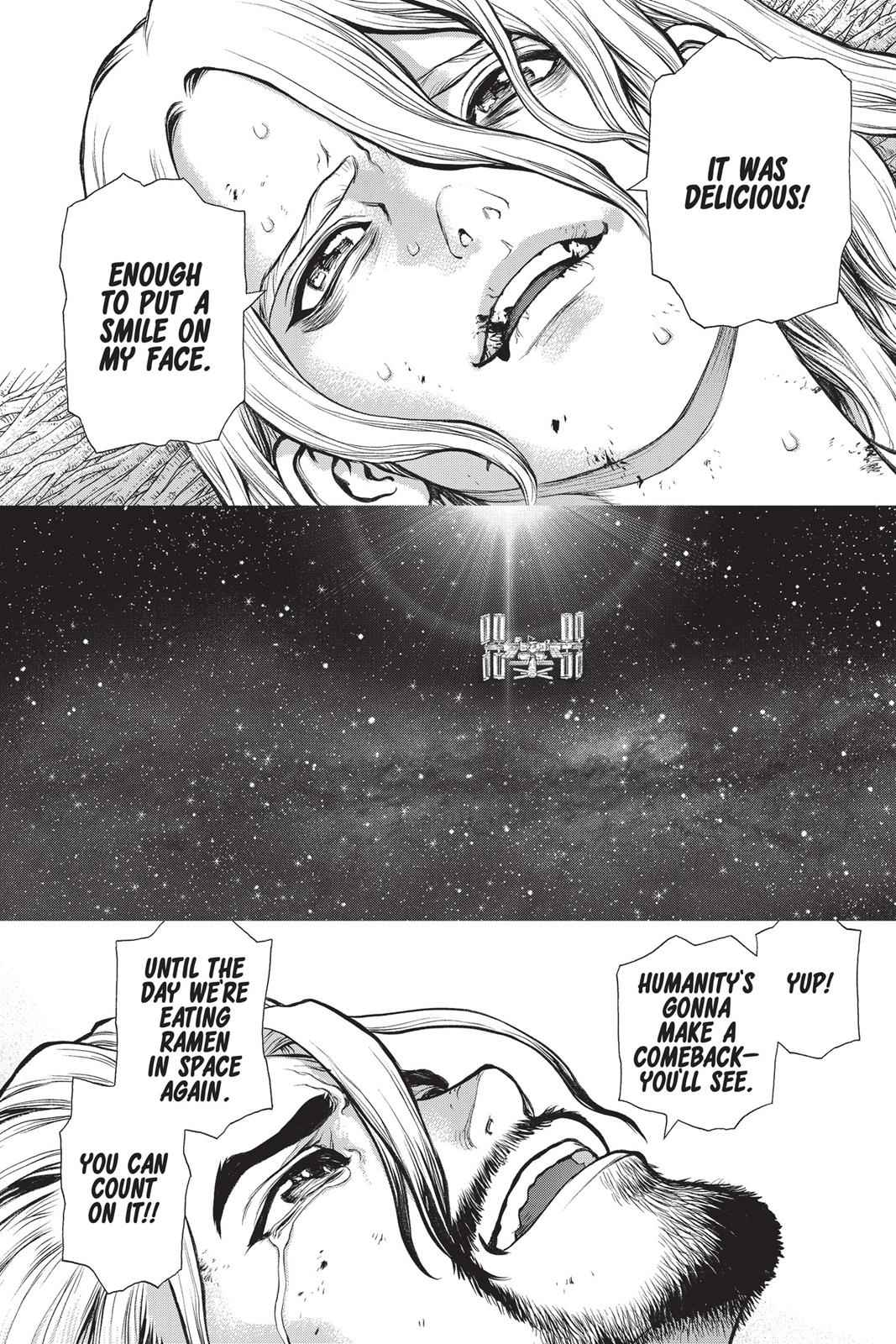 Dr. Stone Chapter 45 Page 8