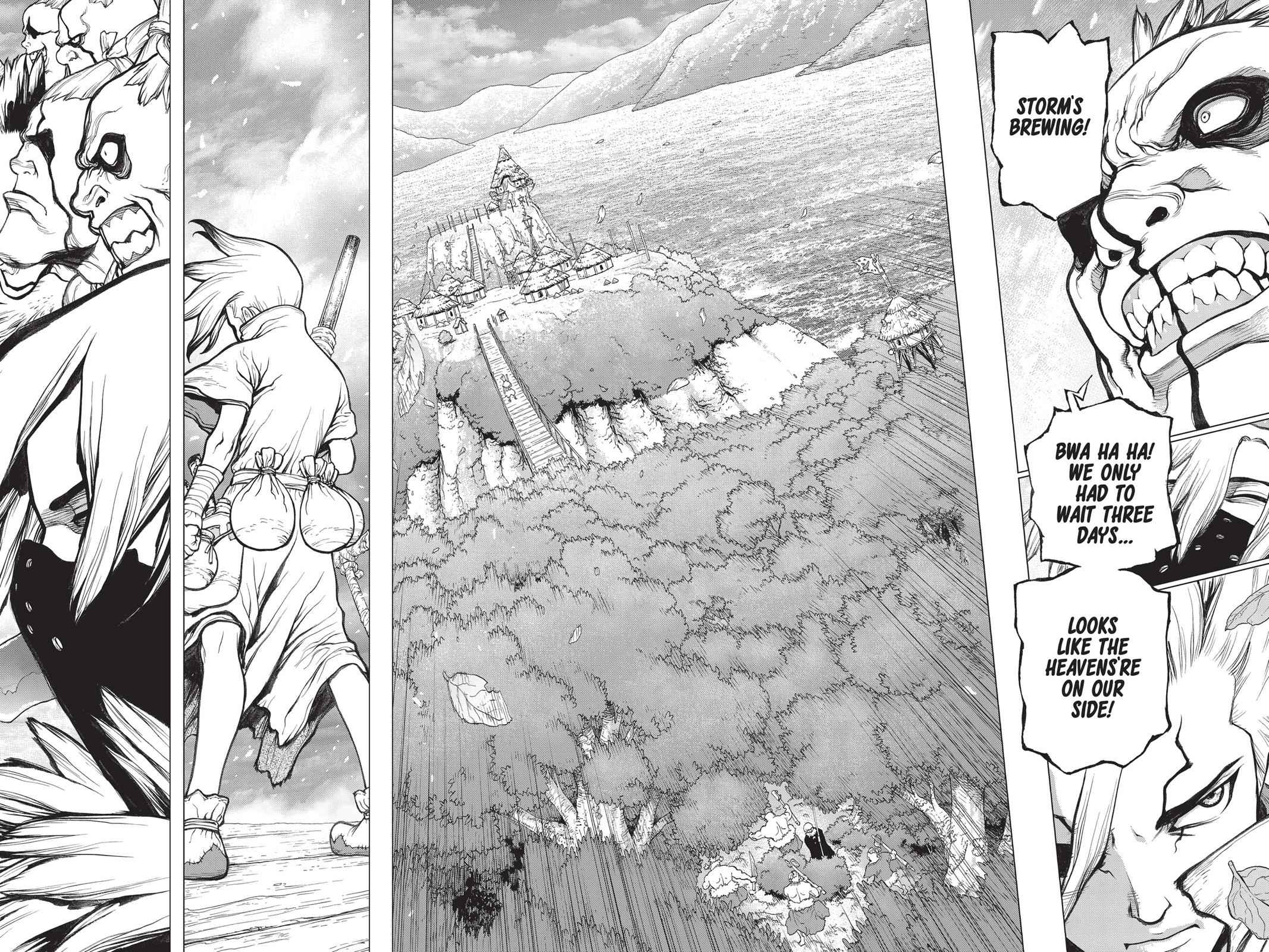 Dr. Stone Chapter 47 Page 12