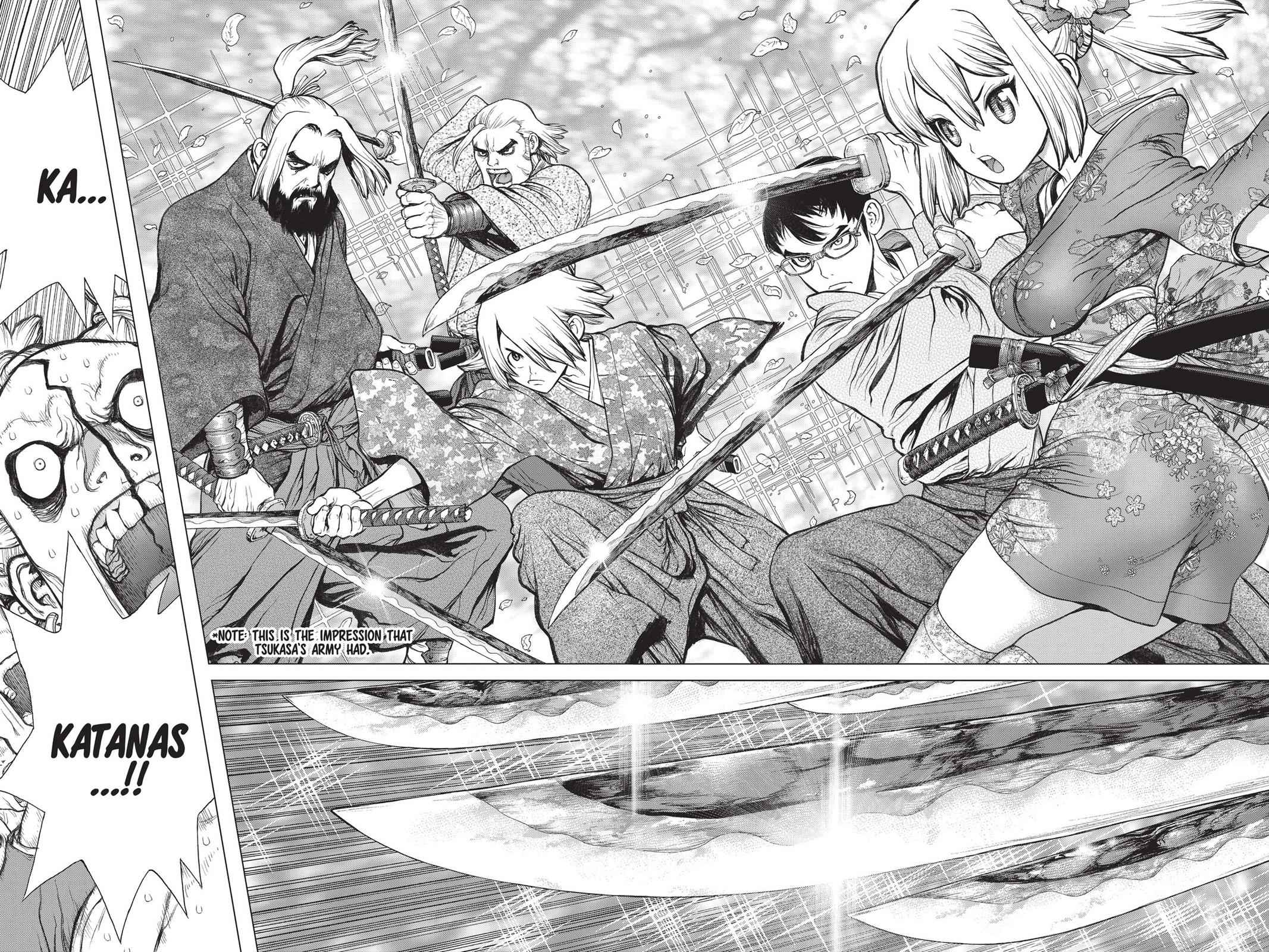 Dr. Stone Chapter 47 Page 15