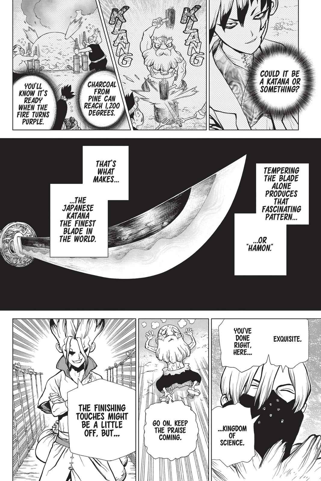 Dr. Stone Chapter 47 Page 16