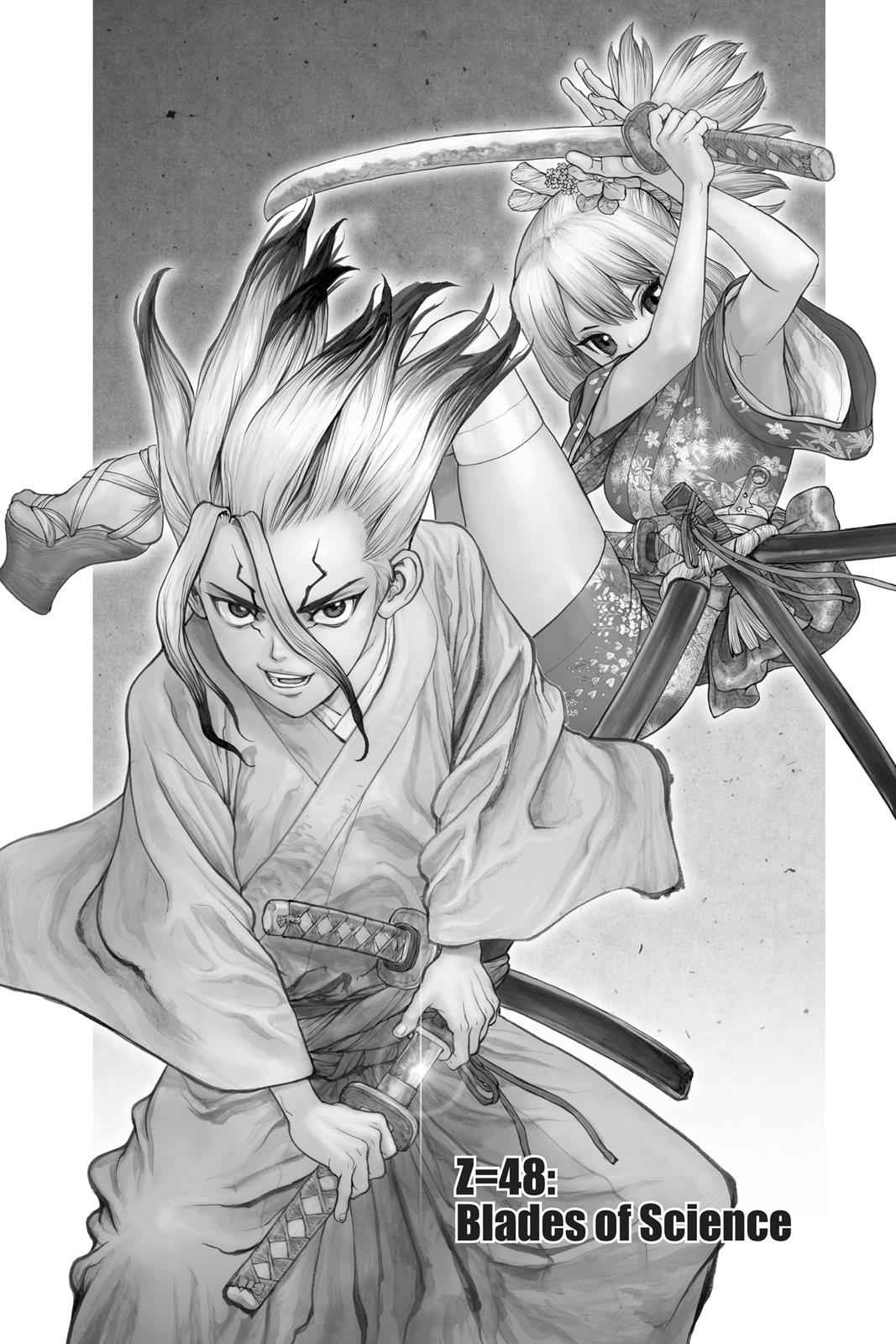 Dr. Stone Chapter 48 Page 1
