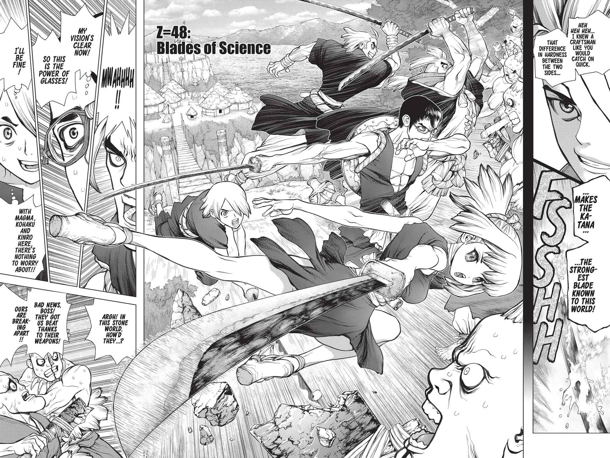Dr. Stone Chapter 48 Page 4
