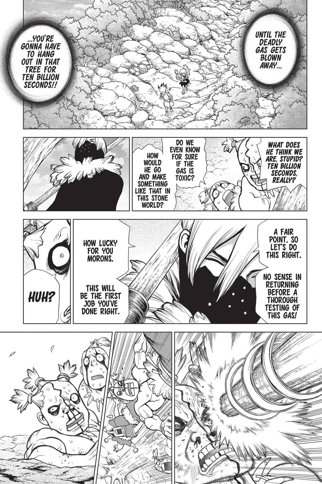 Dr. Stone Chapter 49 Page 14