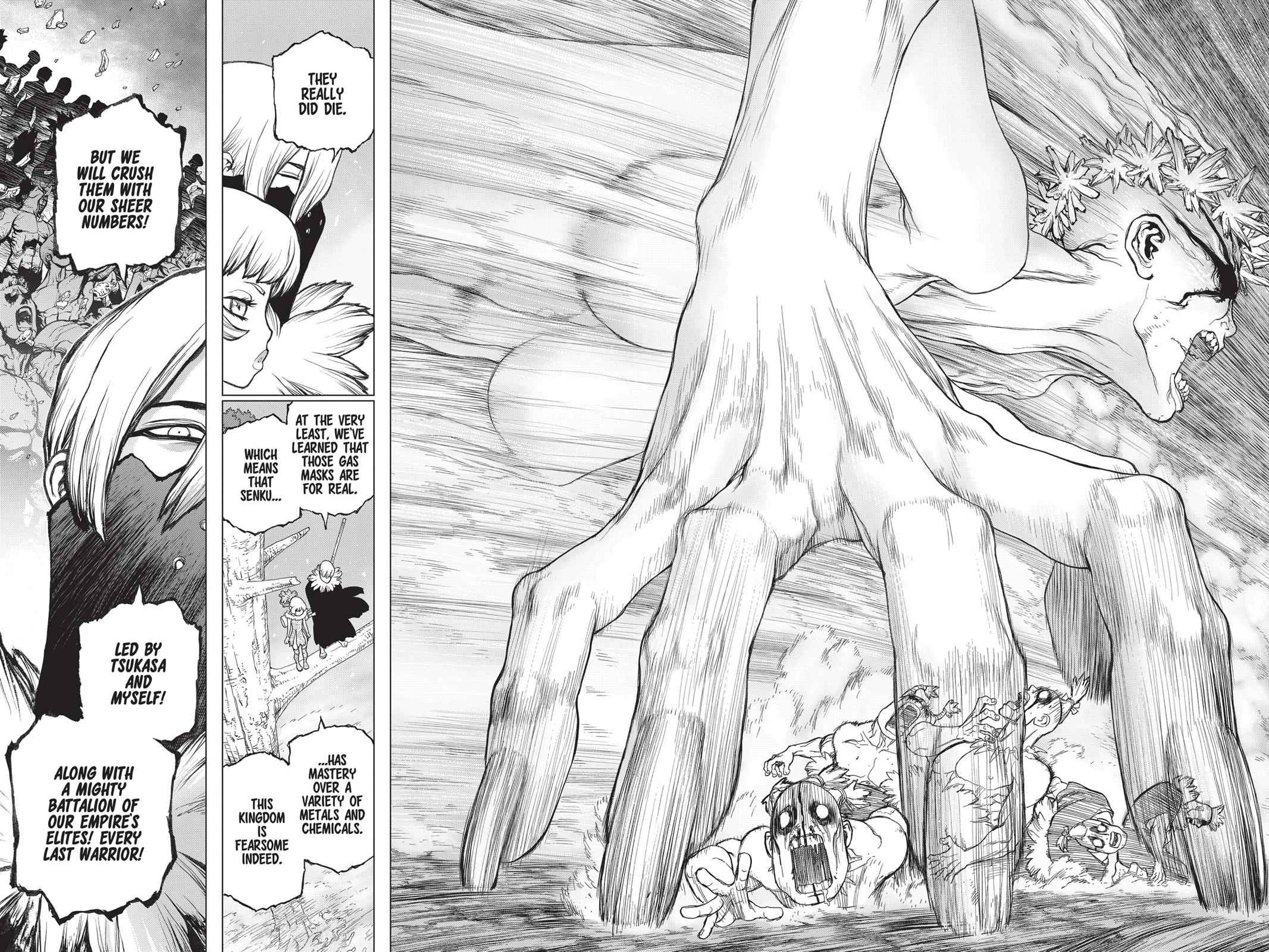 Dr. Stone Chapter 49 Page 15