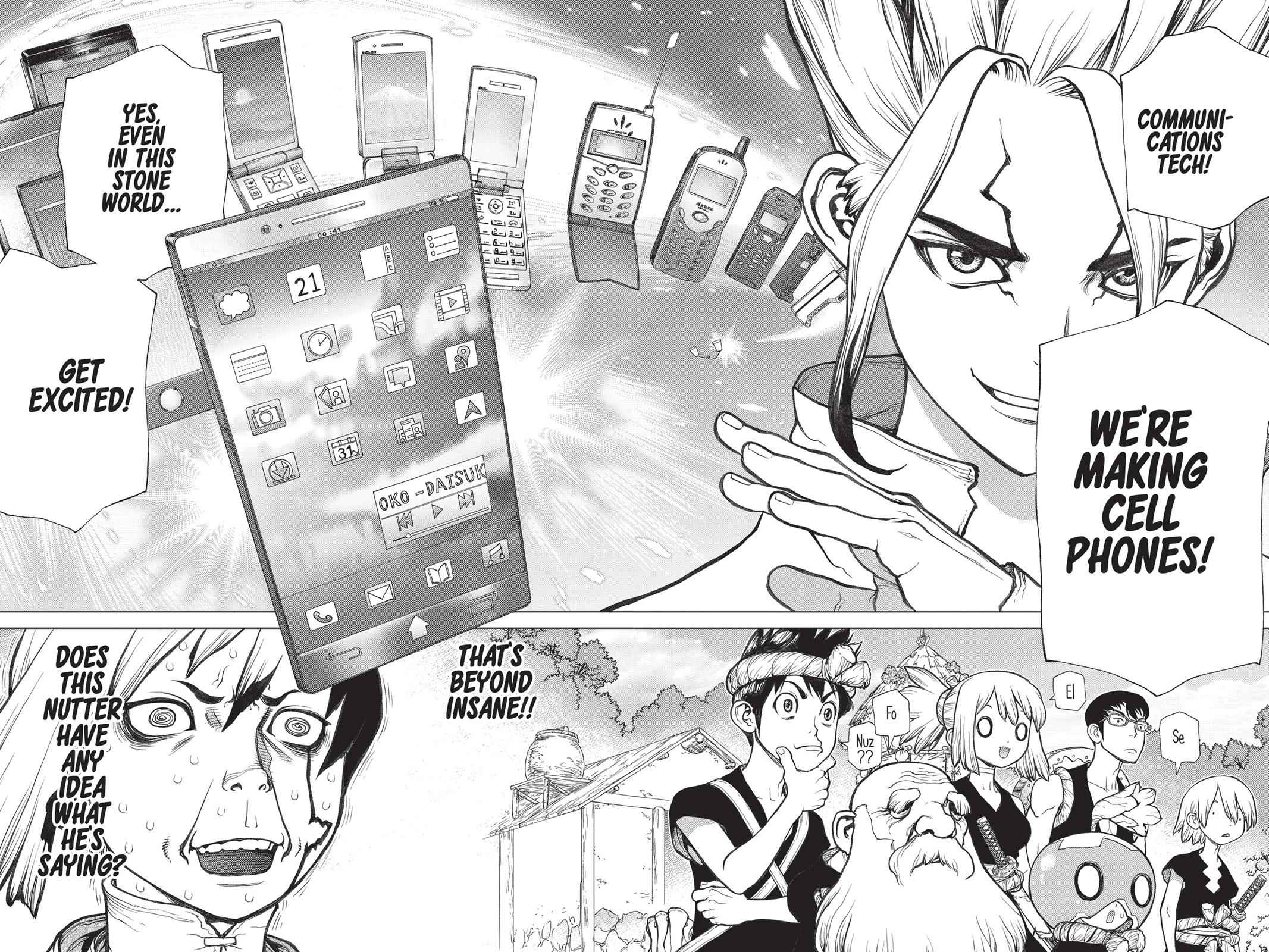Dr. Stone Chapter 50 Page 11