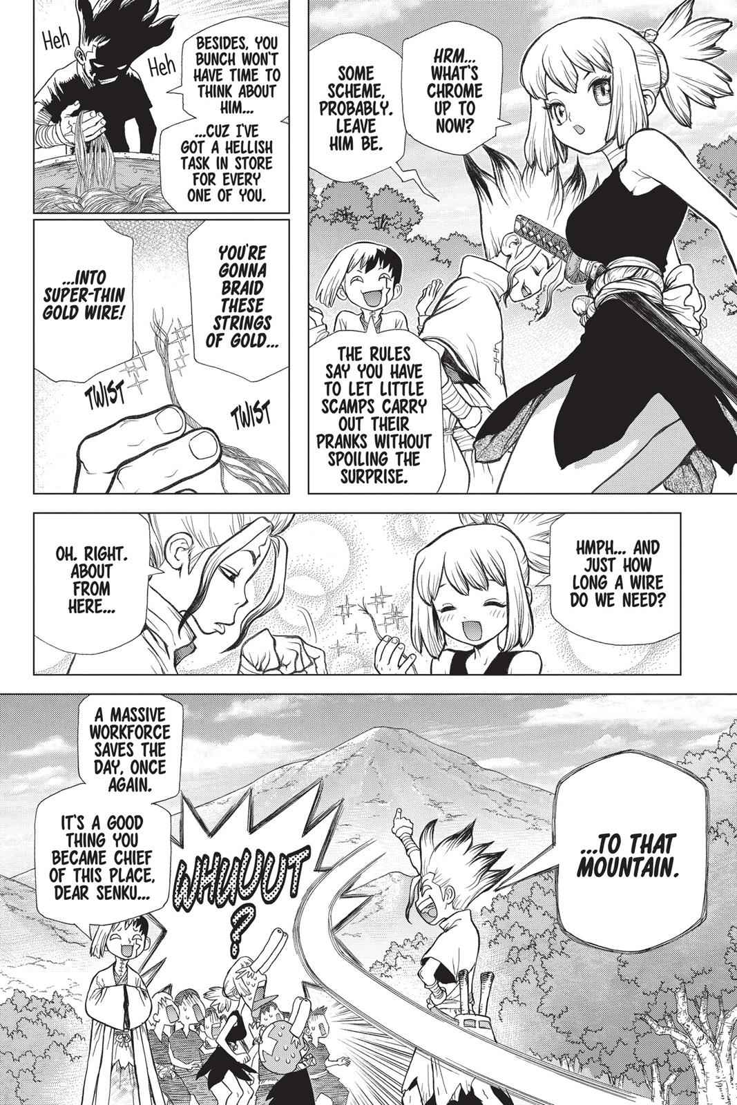Dr. Stone Chapter 52 Page 14