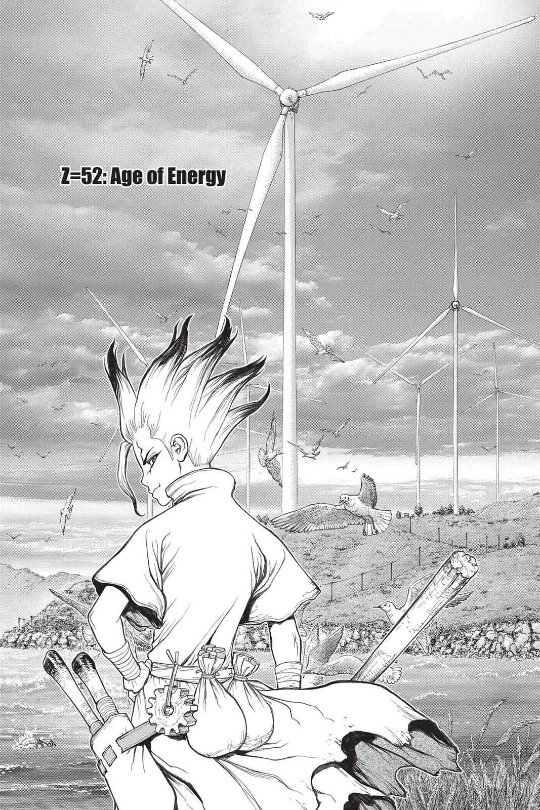 Dr. Stone Chapter 52 Page 5