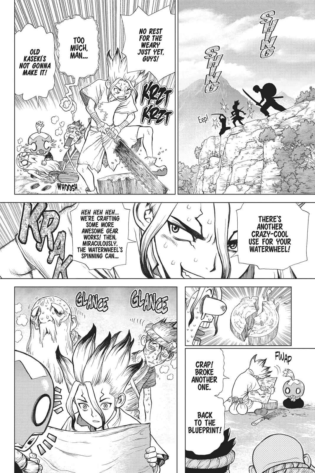Dr. Stone Chapter 53 Page 12