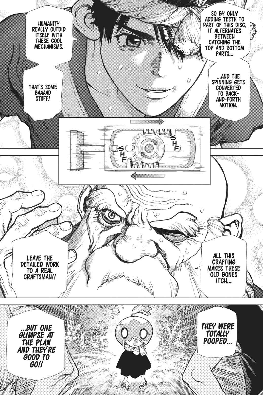 Dr. Stone Chapter 53 Page 13