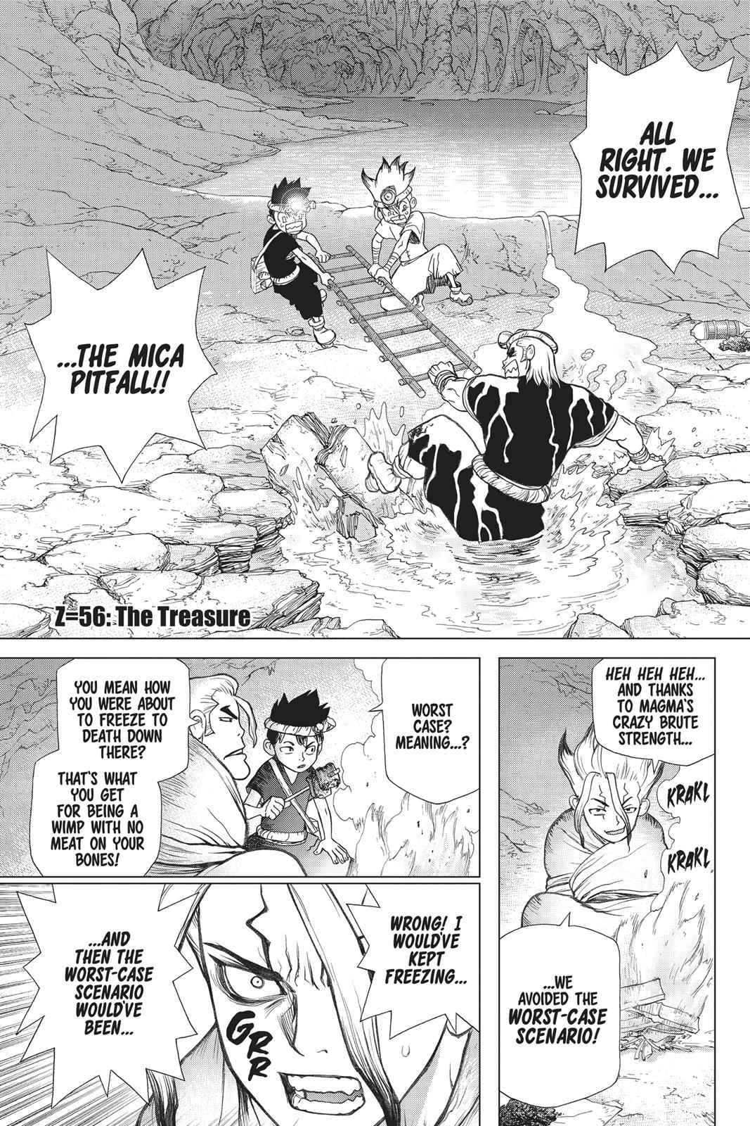 Dr. Stone Chapter 56 Page 1