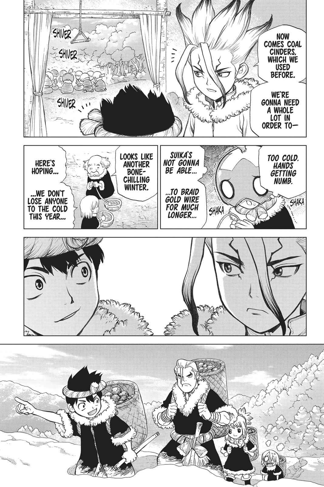 Dr. Stone Chapter 58 Page 11