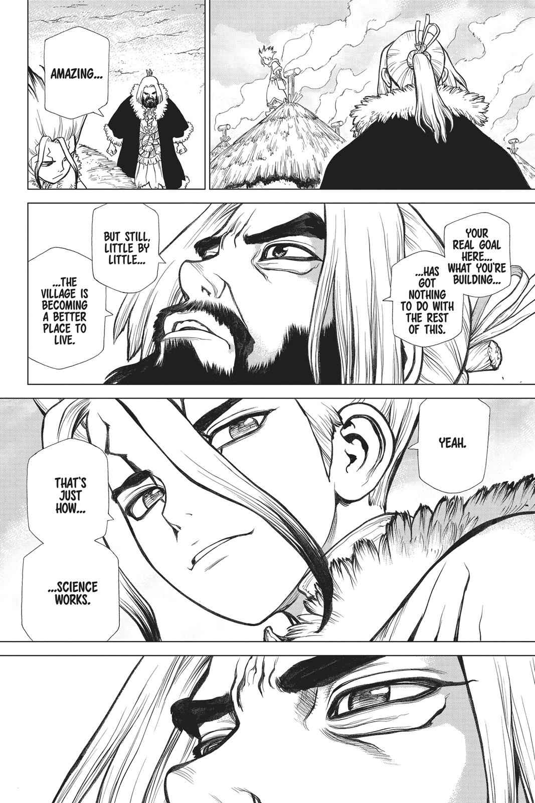 Dr. Stone Chapter 58 Page 14