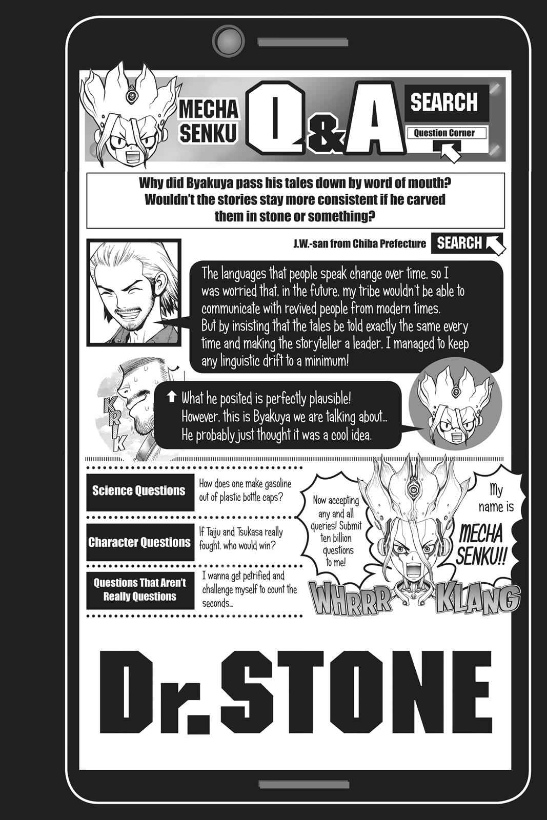 Dr. Stone Chapter 60 Page 19