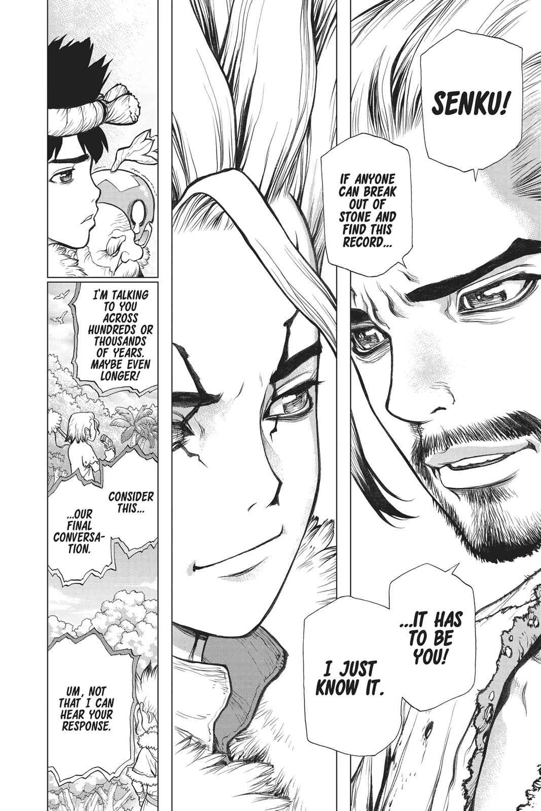 Dr. Stone Chapter 60 Page 8