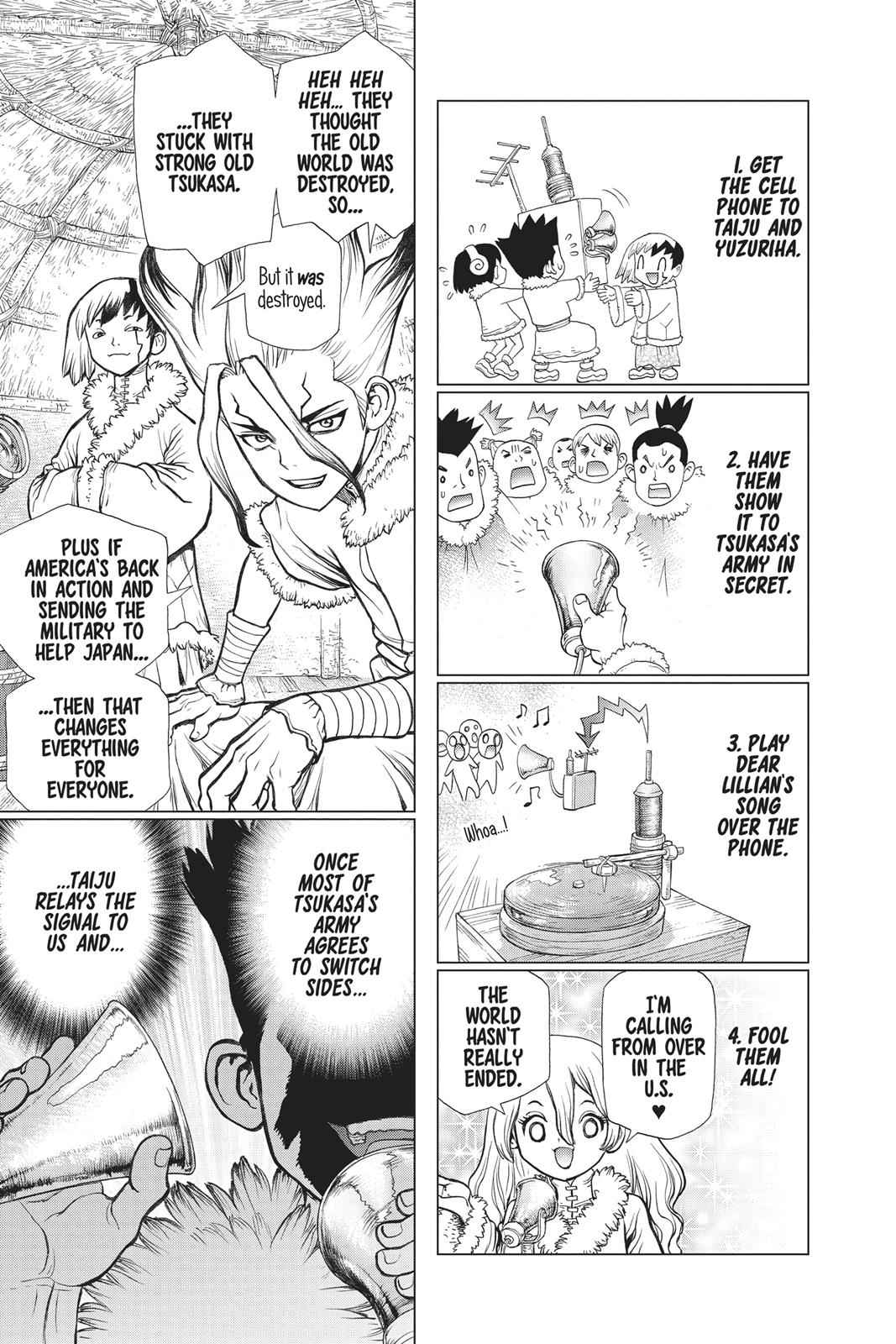 Dr. Stone Chapter 61 Page 8
