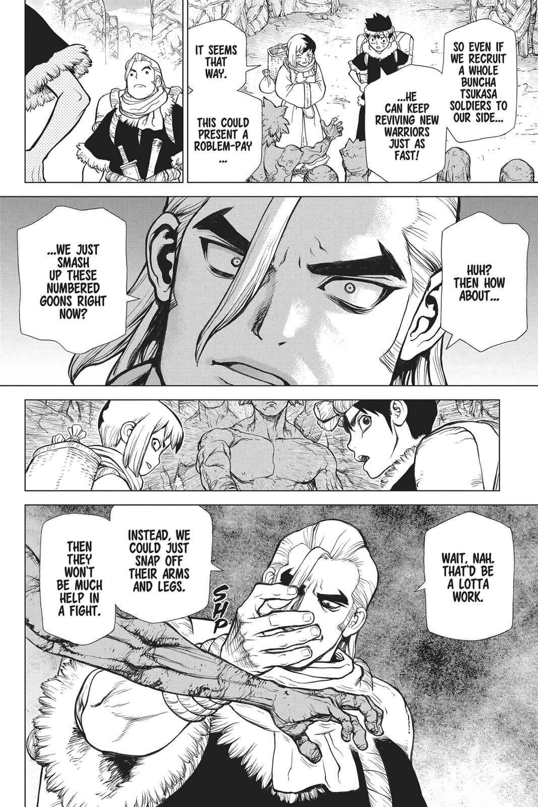 Dr. Stone Chapter 64 Page 3
