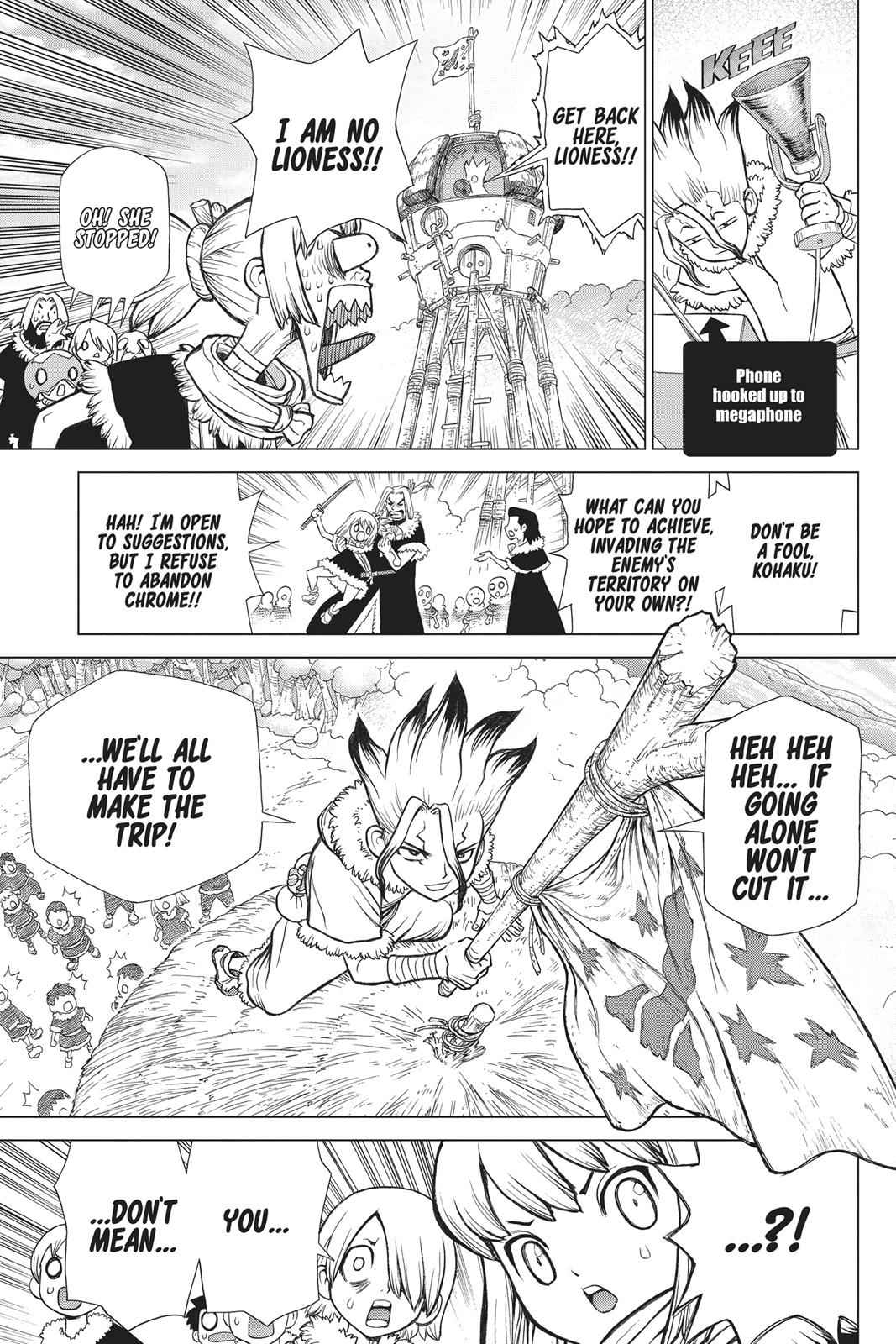 Dr. Stone Chapter 67 Page 14