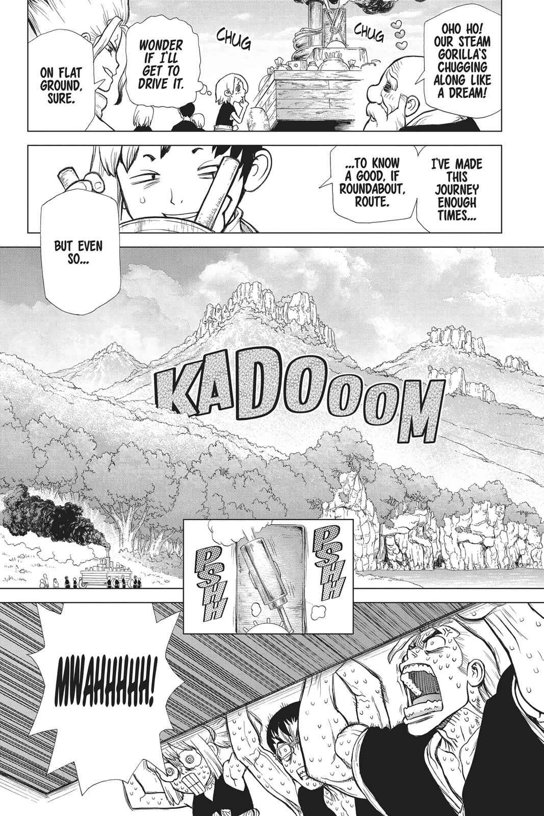 Dr. Stone Chapter 69 Page 10