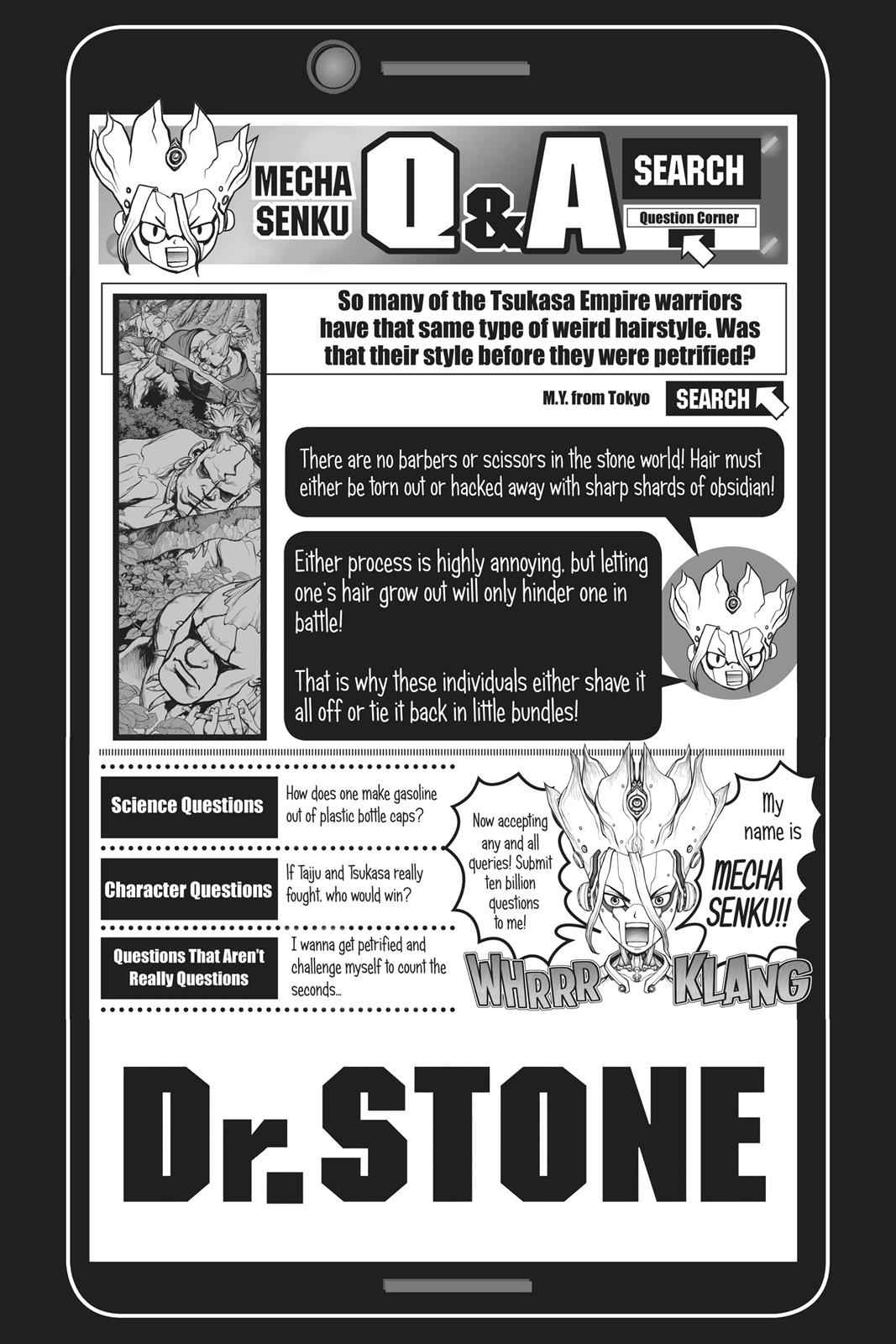 Dr. Stone Chapter 69 Page 17
