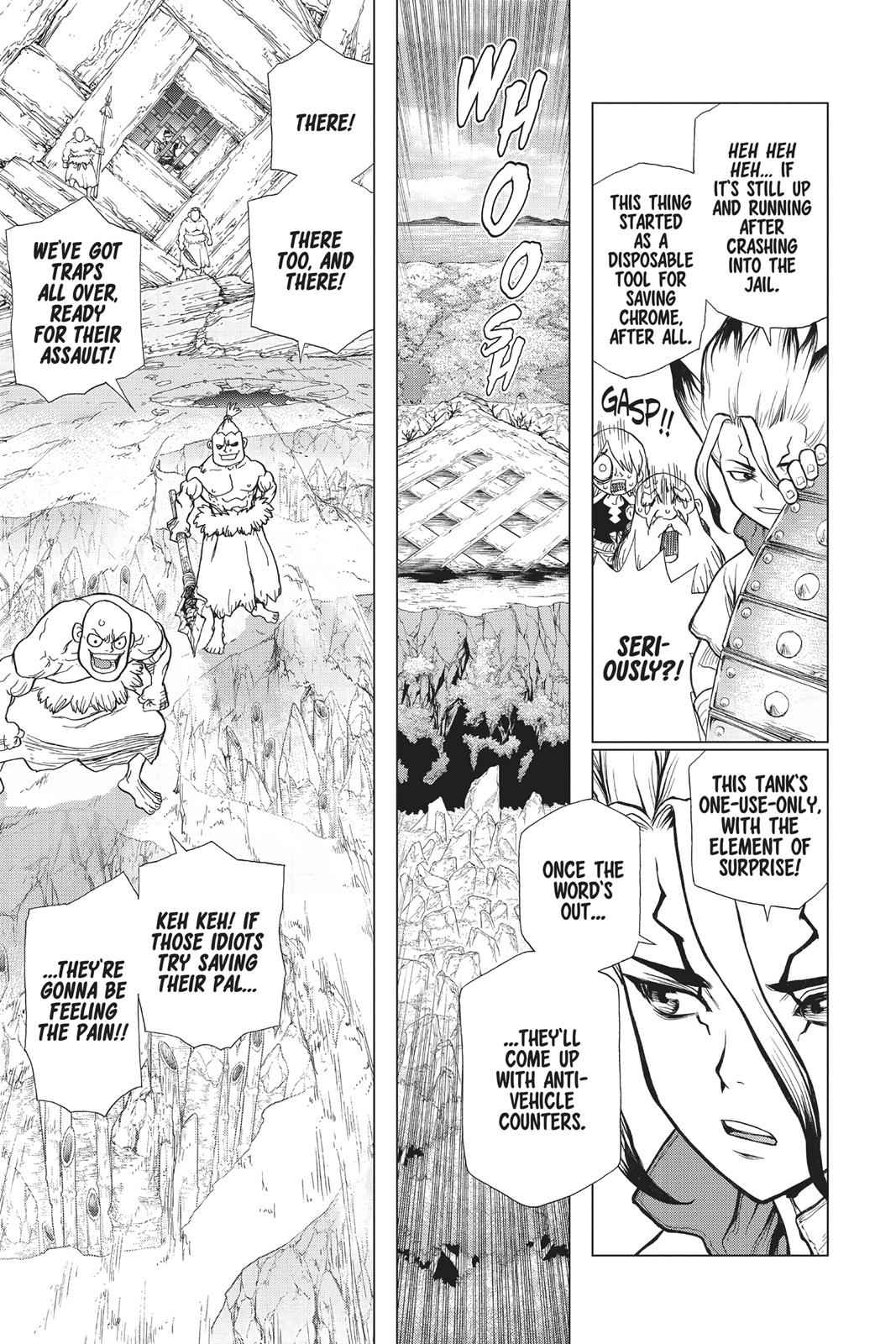 Dr. Stone Chapter 70 Page 16
