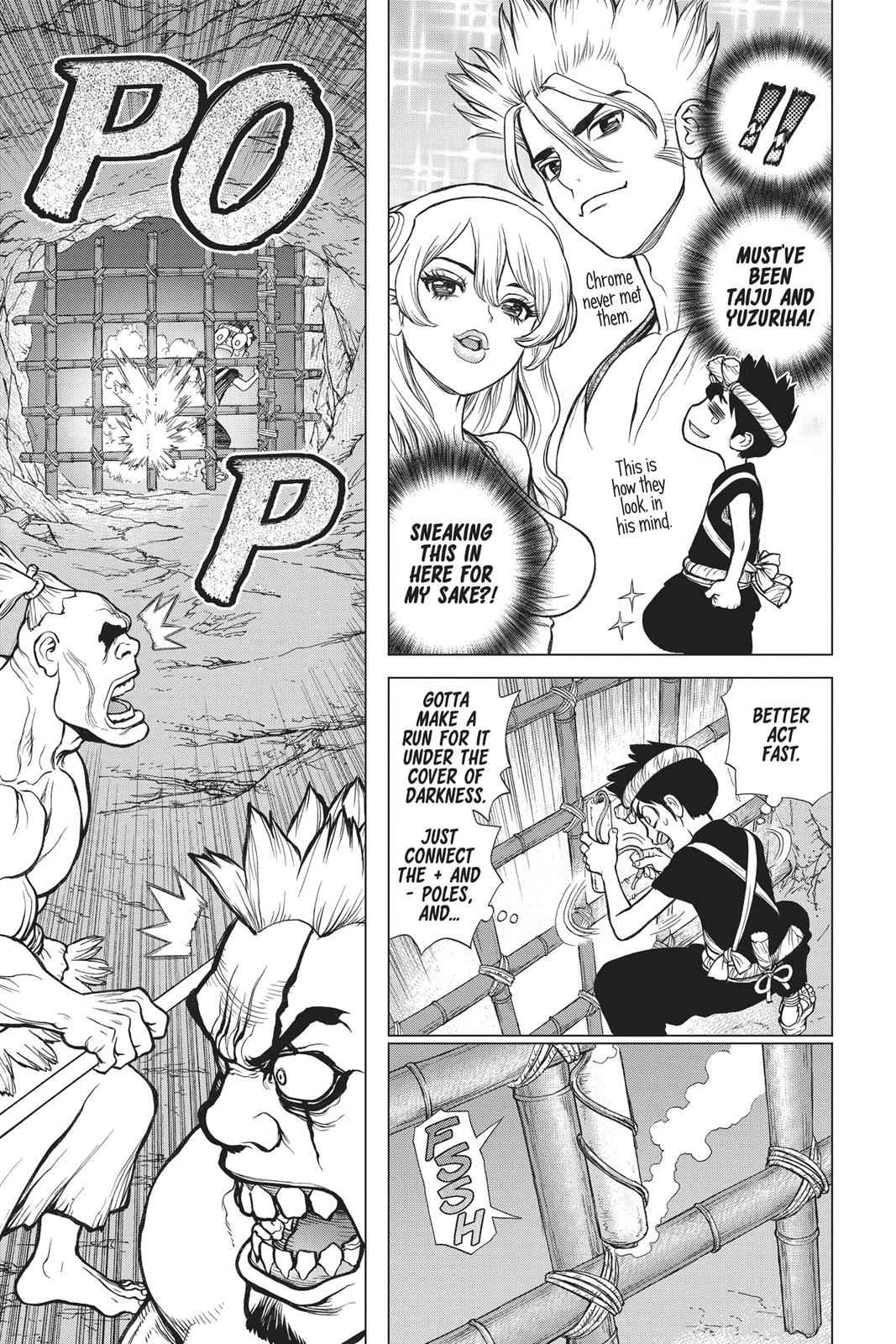Dr. Stone Chapter 71 Page 17