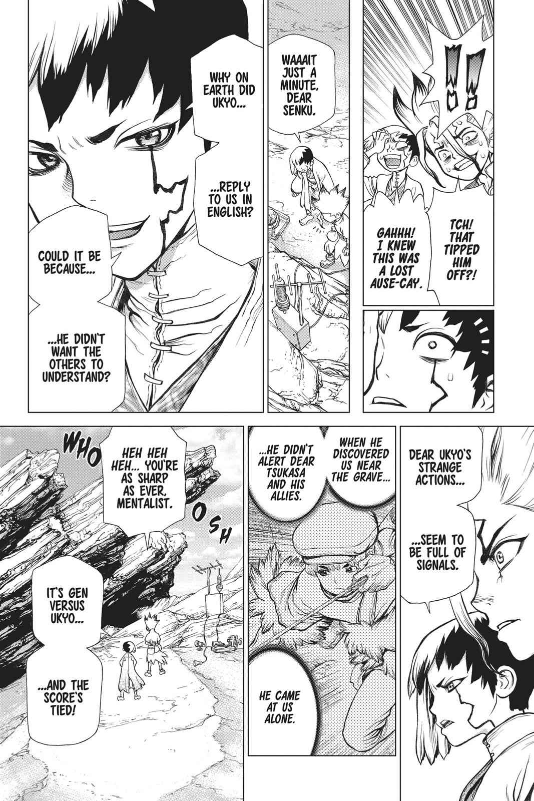 Dr. Stone Chapter 73 Page 13
