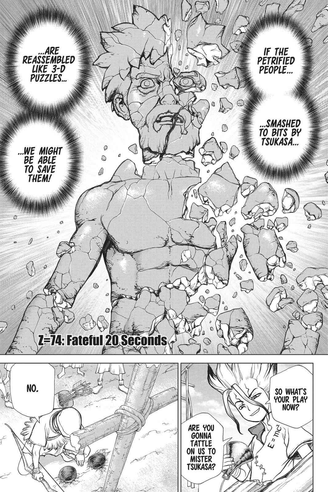 Dr. Stone Chapter 74 Page 1