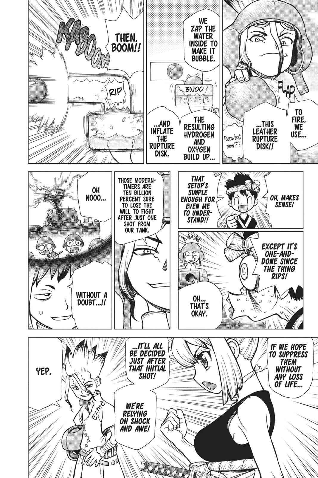 Dr. Stone Chapter 74 Page 10