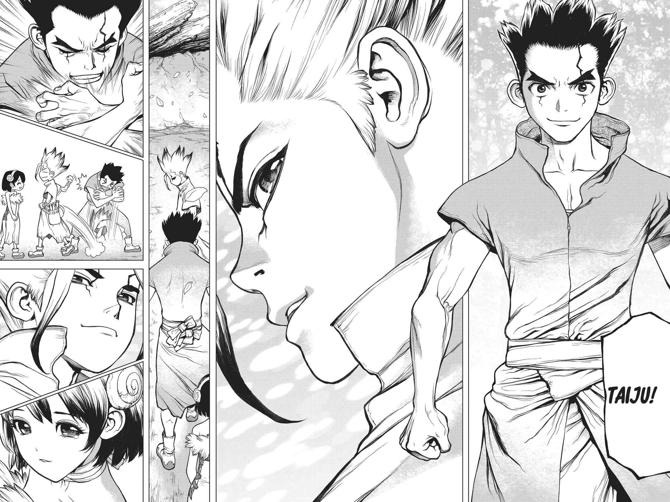 Dr. Stone Chapter 74 Page 12