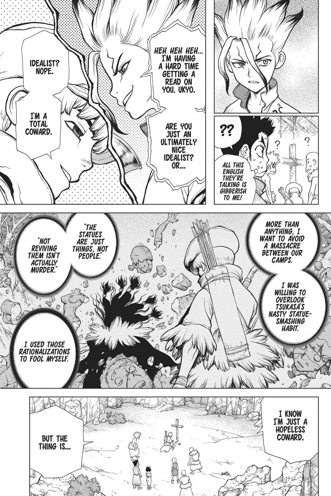 Dr. Stone Chapter 74 Page 3