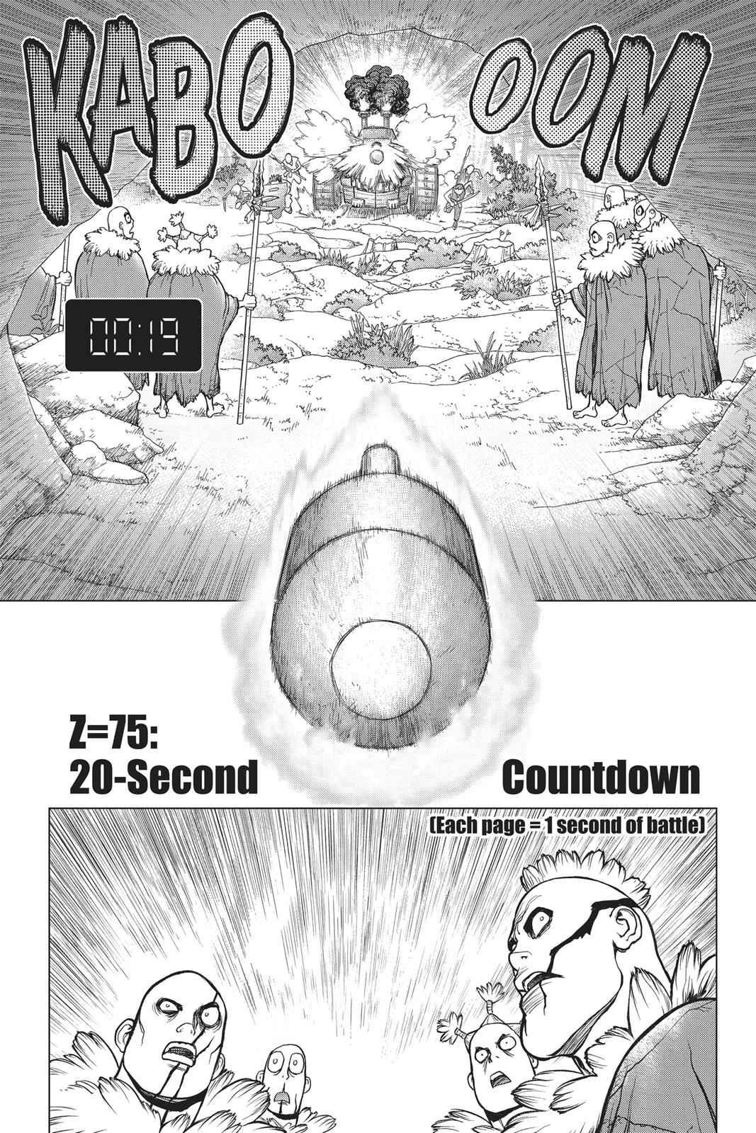 Dr. Stone Chapter 75 Page 1