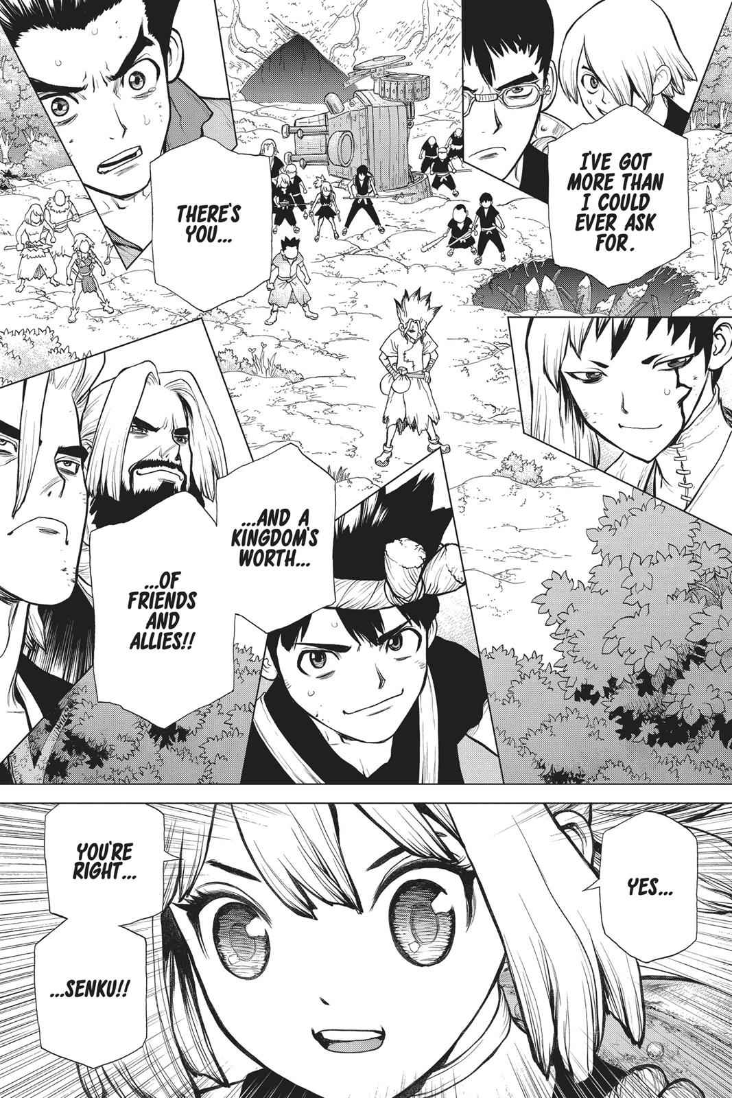Dr. Stone Chapter 76 Page 13