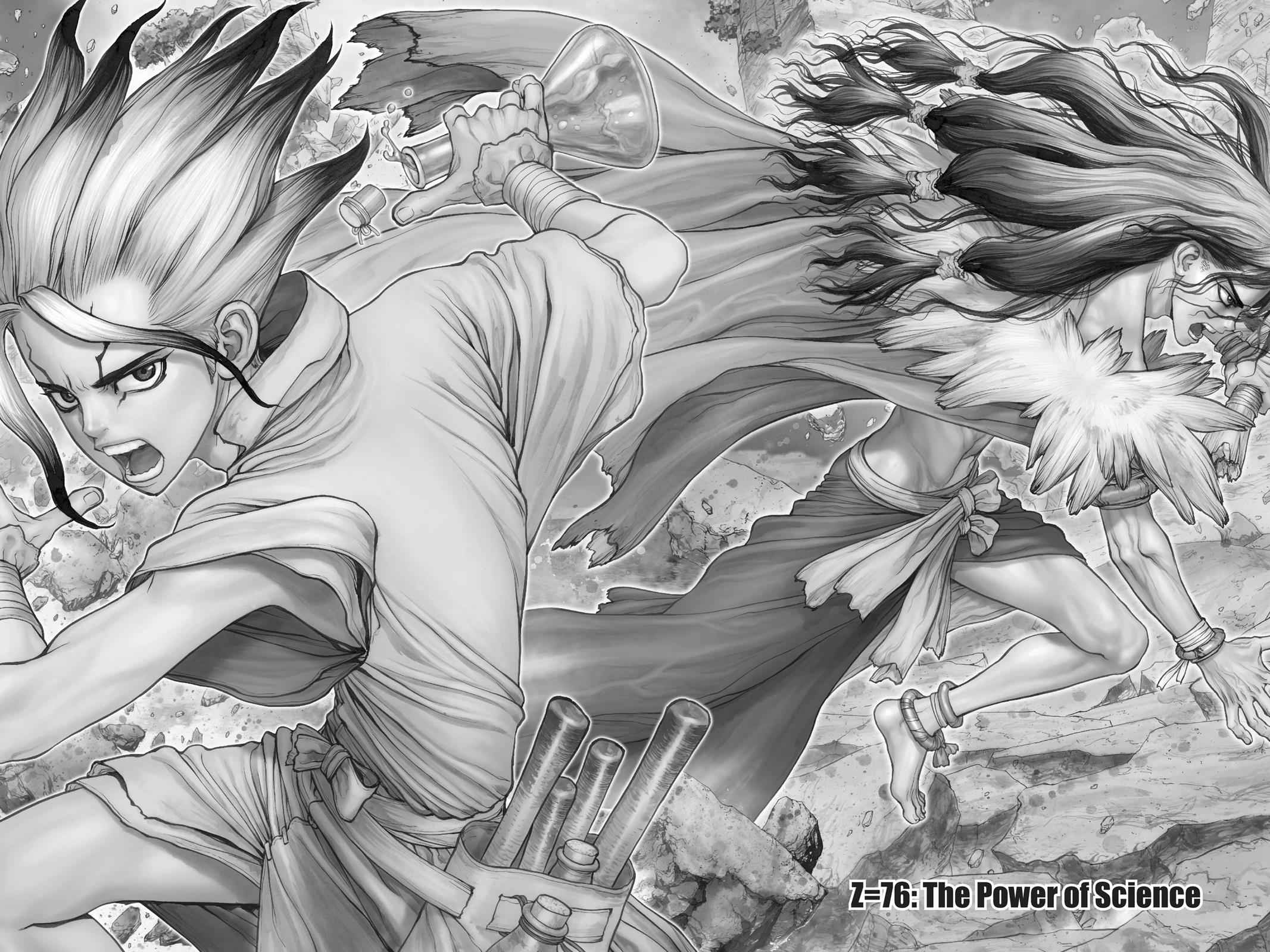 Dr. Stone Chapter 77 Page 1