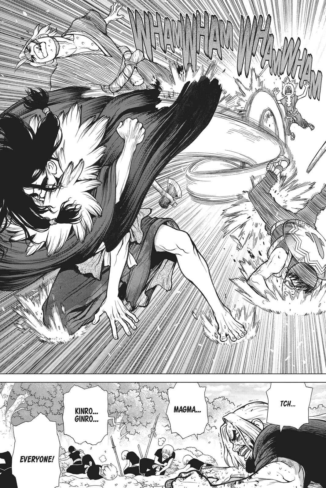 Dr. Stone Chapter 77 Page 10